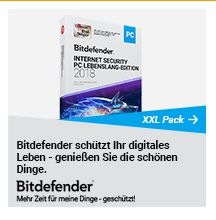 Bitdefender Lebenslang Edition