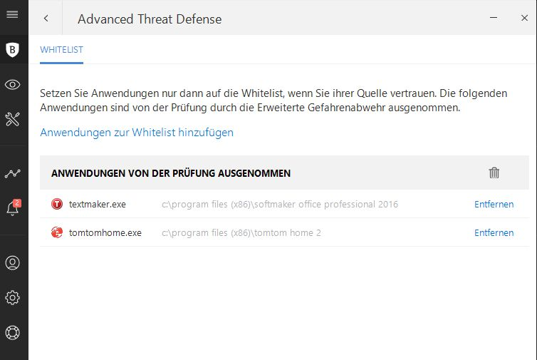 Bitdefender Advanced Threat Defense
