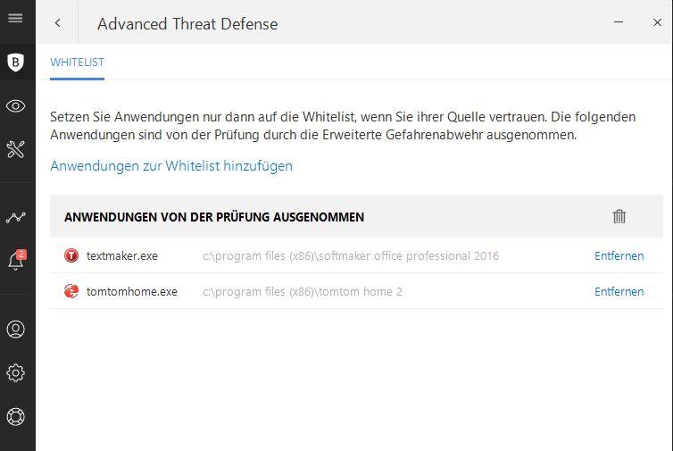 Bitdefender Advanced Threat Defense