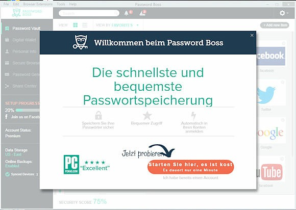 Password Boss Installation